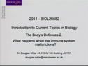Preview image for video: Biol20882 - 31.3.2011