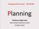 Preview image for video: Management Processes 15.10.12