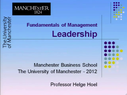 Preview image for video: Leadership-23.11.2012
