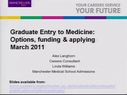 Preview image for video: Graduate Entry to Medicine