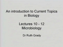 Preview image for video: Microbiology. Lectures 10-12.