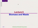 Preview image for video: Biomass and Waste