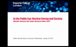 Preview image for video: Nuclear Energy Lecture