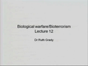 Preview image for video: Biological Warfare