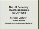 Preview image for video: ECON 10082 21.03.11