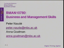 Preview image for video: Business & Managment Skills