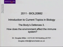 Preview image for video: Biol20882 - 4.4.2011