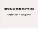 Preview image for video: Fundamentals of Management