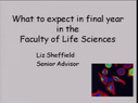 Preview image for video: FLS 2nd Year lecture