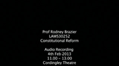 Preview image for video: Rodney Brazier LAWS30252