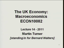 Preview image for video: ECON10082_17.03.2011