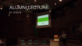Preview image for video: Alumni Lecture