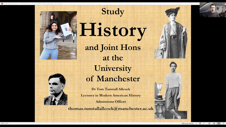 Dummy video preview image for video: History Admissions Talk