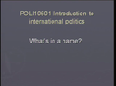 Preview image for video: POLI10601 29-09-11