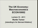 Preview image for video: ECON 10082 03.03.11